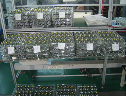 Raspberry pis in the factory