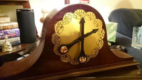 Pat Peters Weasley Clock Raspberry Pi