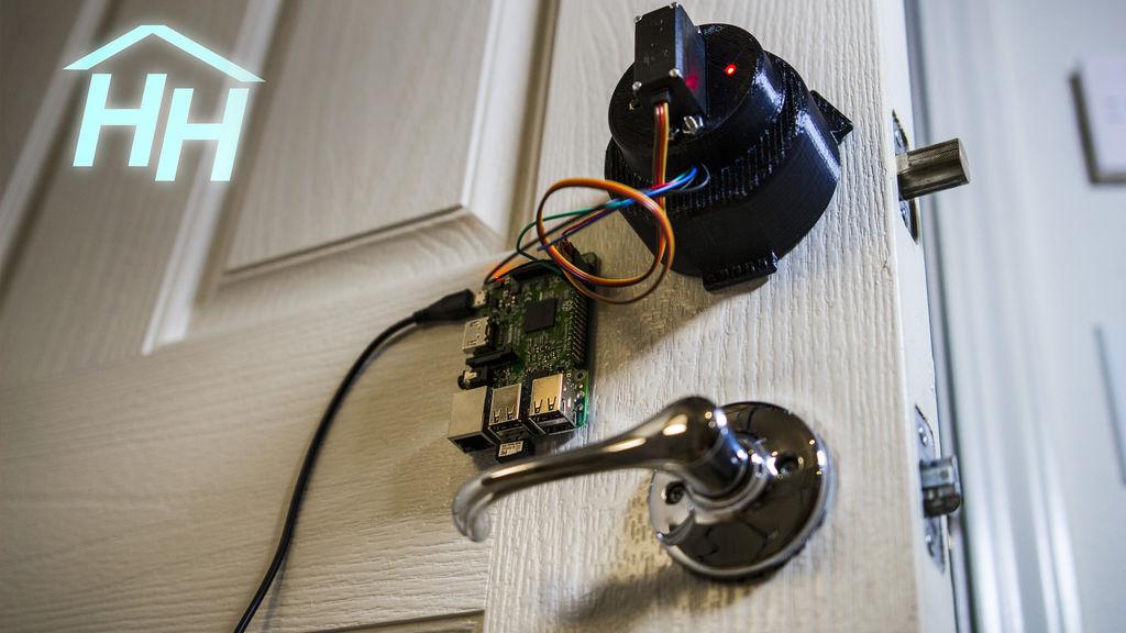 Hacker House Raspberry Pi Door Lock