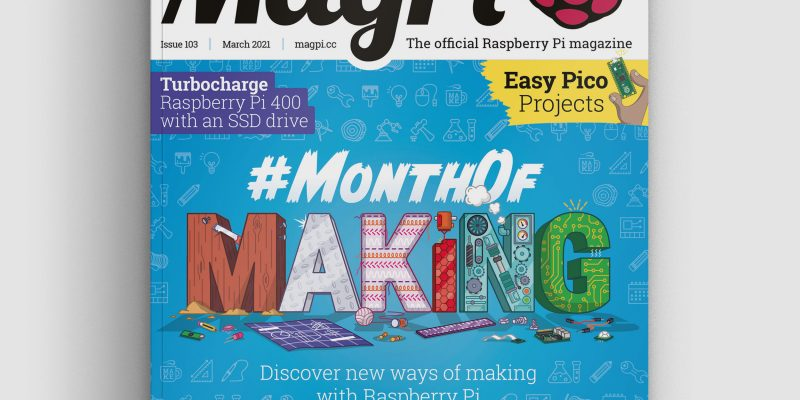 magpi magazine cover issue 103