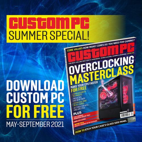 Custom PC summer special advert square