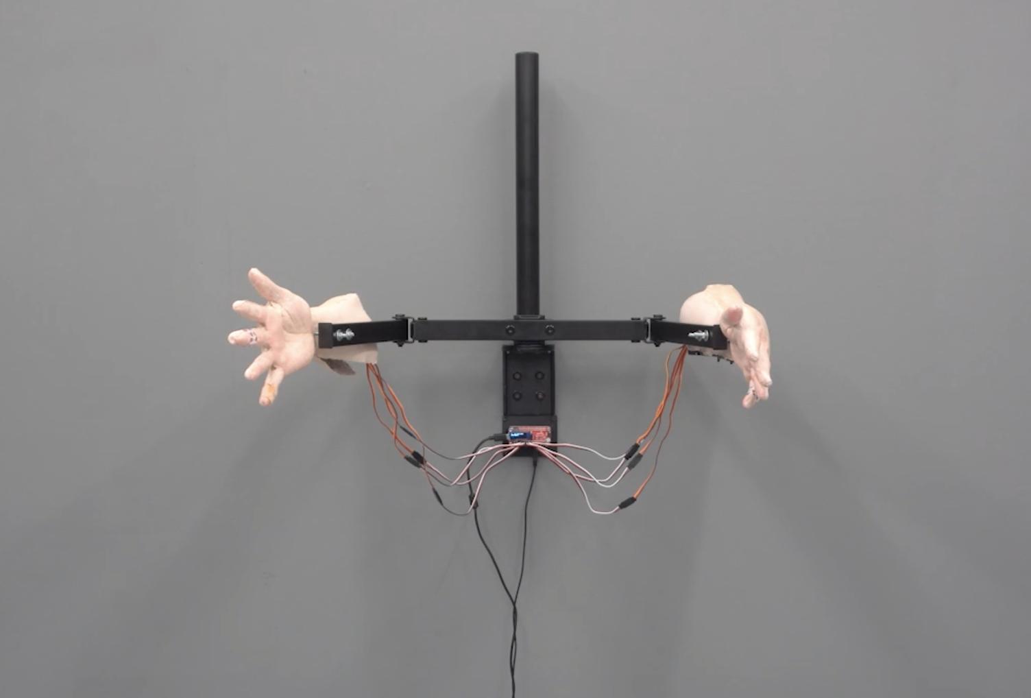 Passive Aggression robotic hands